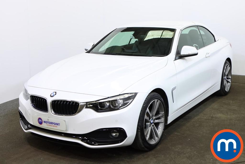 BMW 4 Series 420d [190] Sport 2dr [Business Media] - Stock Number 1165323 Passenger side front corner