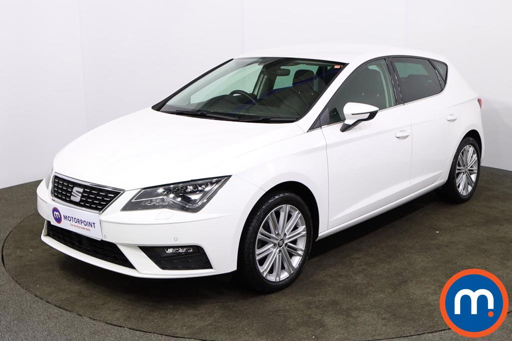 Seat Leon 1.4 TSI 125 Xcellence Technology 5dr [Leather] - Stock Number 1166150 Passenger side front corner