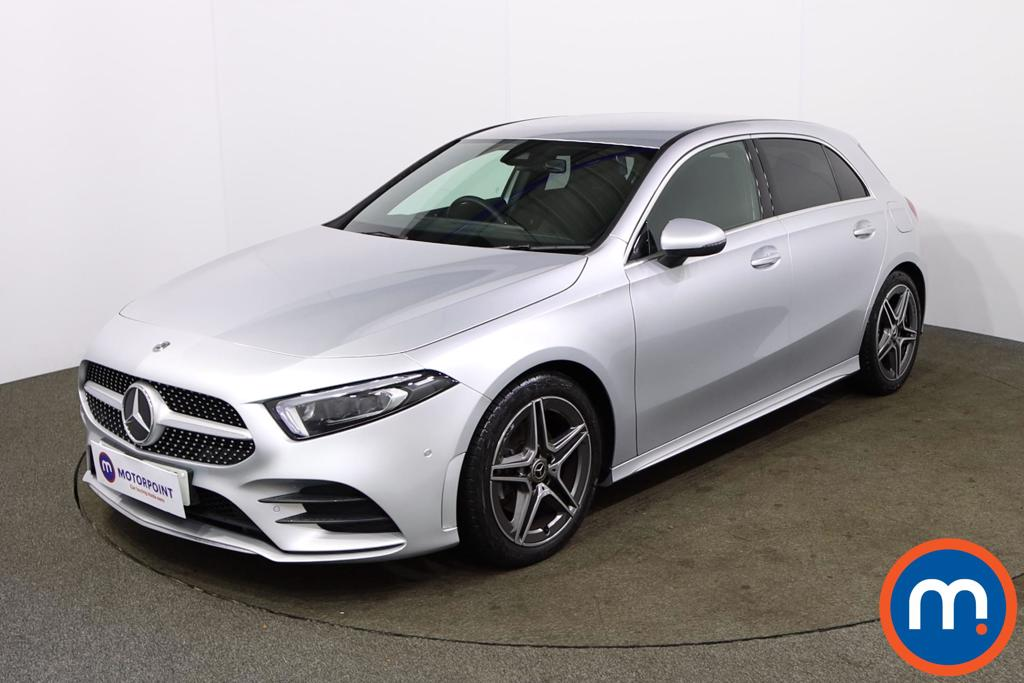 Mercedes-Benz A Class A200 AMG Line Executive 5dr Auto - Stock Number 1166441 Passenger side front corner