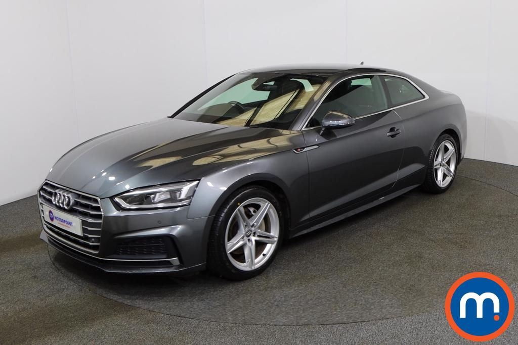 Audi A5 2.0 TDI S Line 2dr S Tronic - Stock Number 1166984 Passenger side front corner