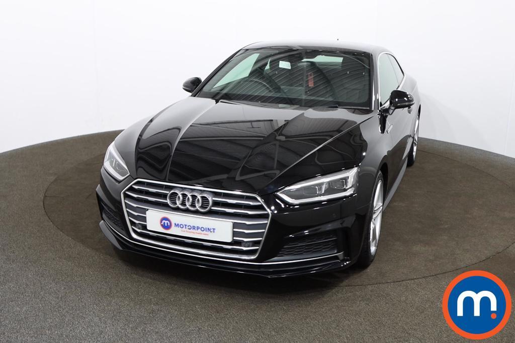 Audi A5 2.0 TDI Ultra S Line 2dr - Stock Number 1168547 Passenger side front corner