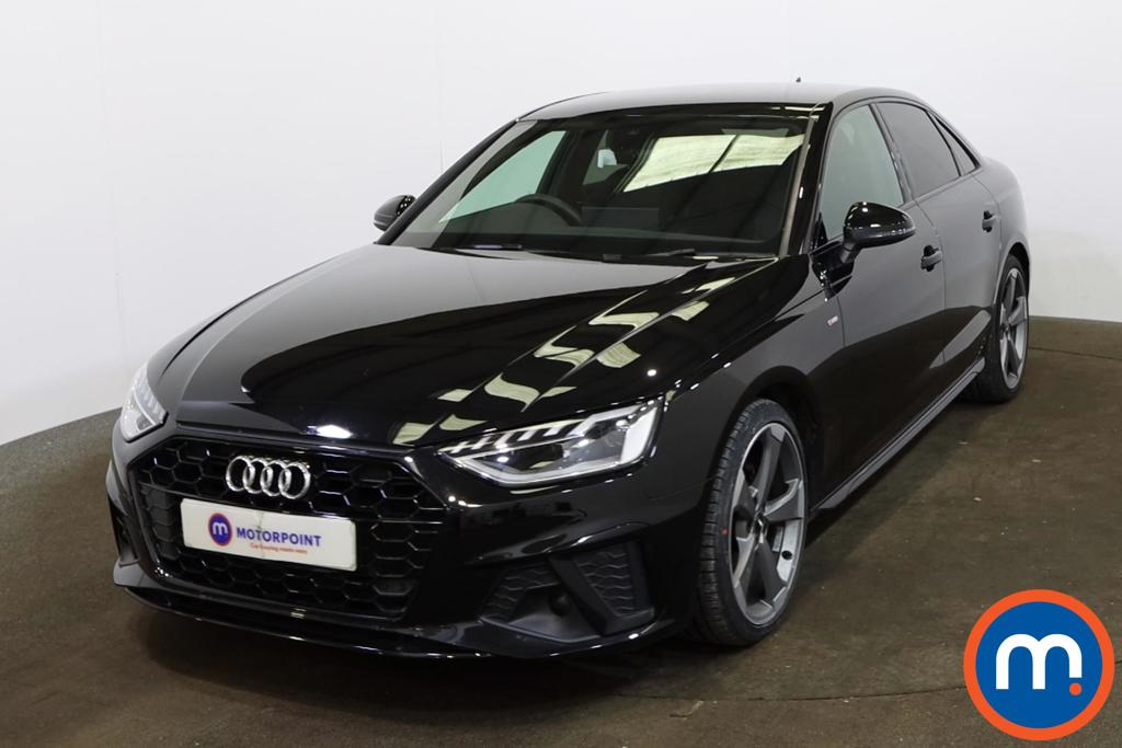 Audi A4 35 TFSI Black Edition 4dr S Tronic - Stock Number 1167997 Passenger side front corner