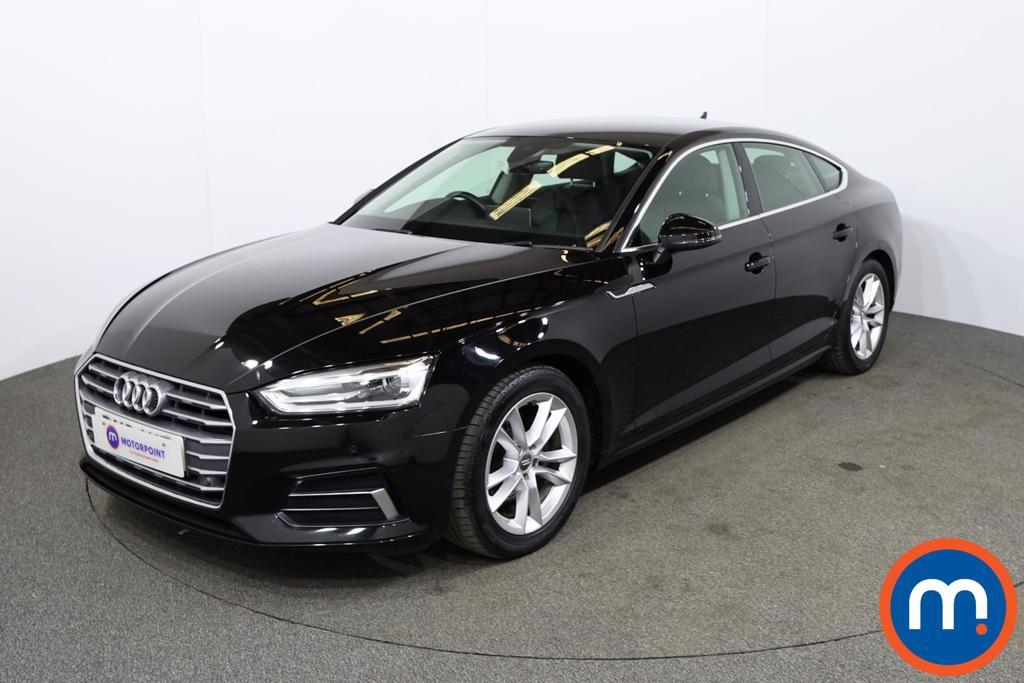Audi A5 1.4 TFSI Sport 5dr S Tronic [Tech Pack] - Stock Number 1168543 Passenger side front corner