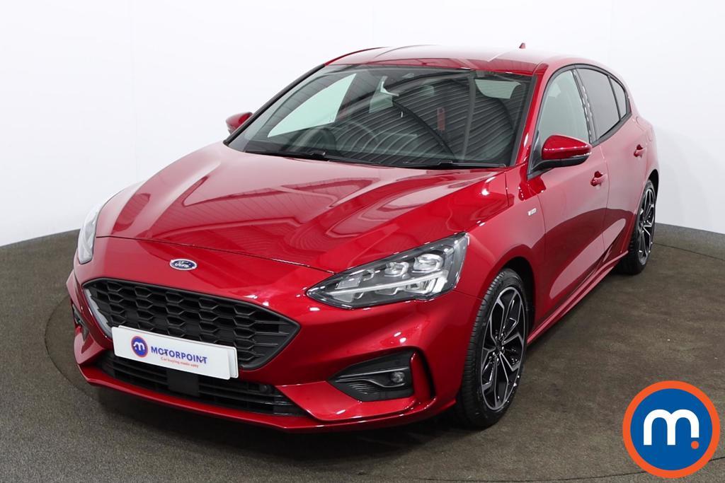 Ford Focus 1.0 EcoBoost Hybrid mHEV 155 ST-Line X Edition 5dr - Stock Number 1170727 Passenger side front corner