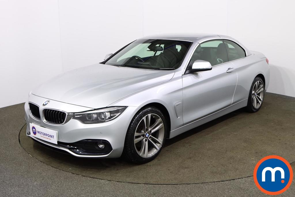BMW 4 Series 420d [190] Sport 2dr [Business Media] - Stock Number 1168601 Passenger side front corner