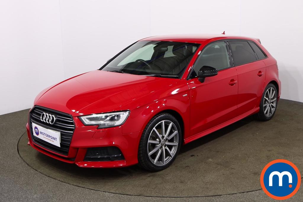 Audi A3 1.5 TFSI Black Edition 5dr - Stock Number 1169097 Passenger side front corner