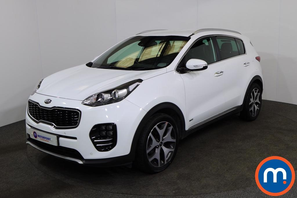 KIA Sportage 1.6T GDi GT-Line 5dr DCT Auto [AWD] - Stock Number 1166334 Passenger side front corner
