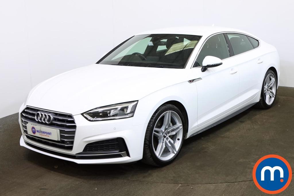 Audi A5 2.0 TDI S Line 5dr - Stock Number 1168139 Passenger side front corner