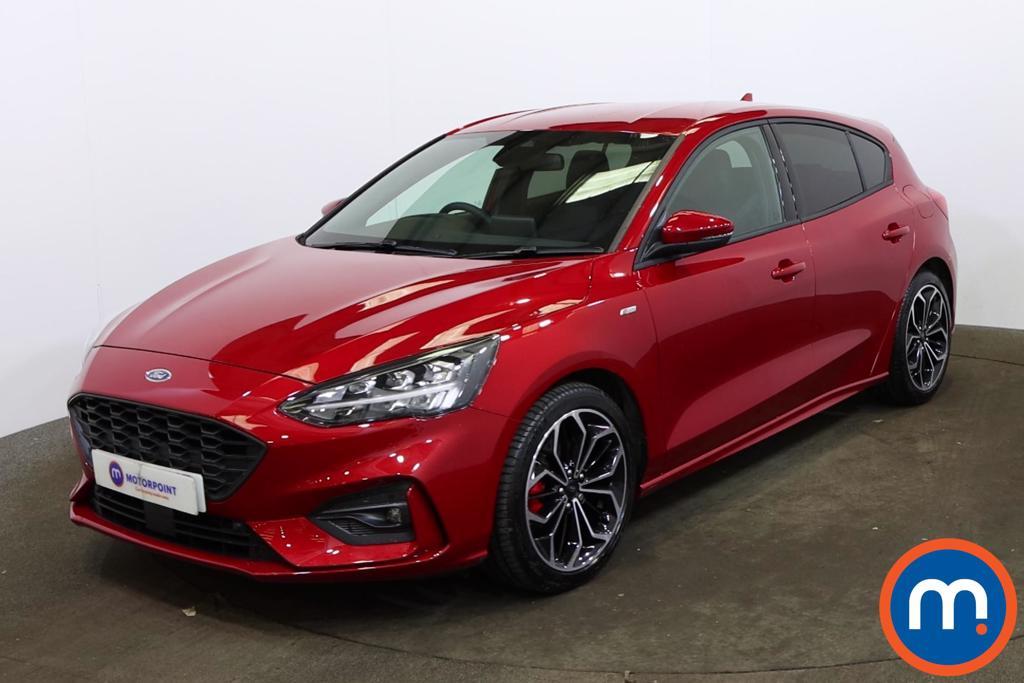 Ford Focus 1.0 EcoBoost Hybrid mHEV 155 ST-Line X Edition 5dr - Stock Number 1170728 Passenger side front corner