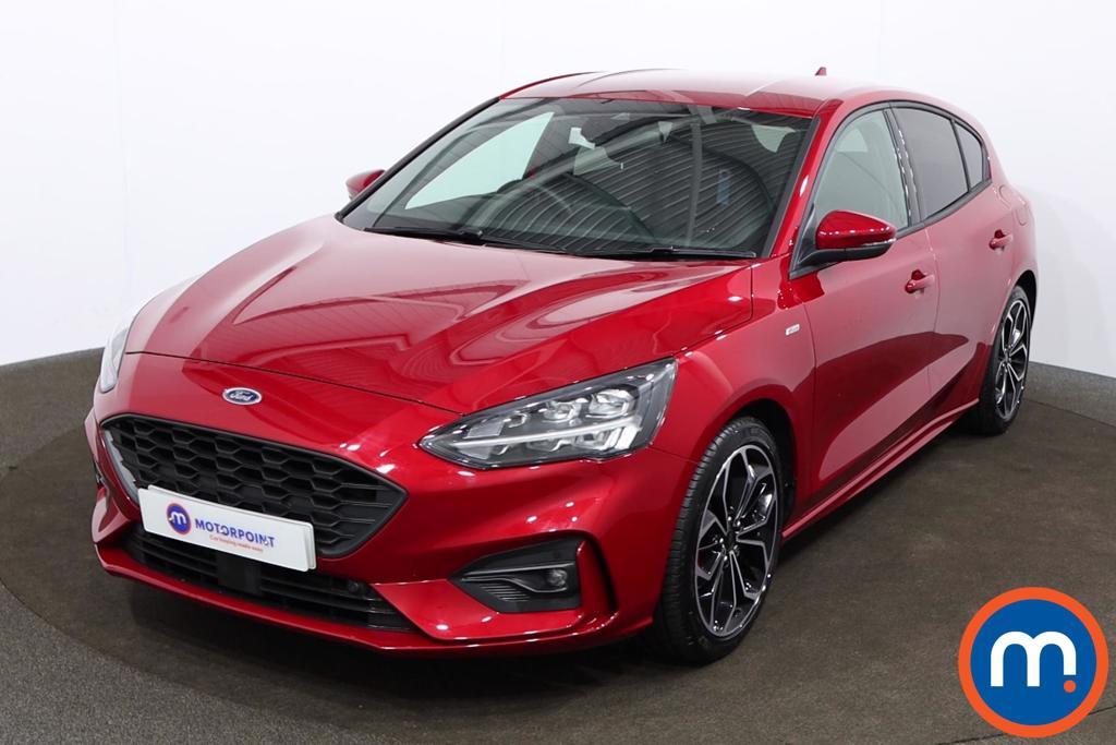 Ford Focus 1.0 EcoBoost Hybrid mHEV 155 ST-Line X Edition 5dr - Stock Number 1172076 Passenger side front corner