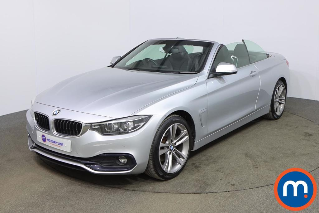 BMW 4 Series 420d [190] Sport 2dr [Business Media] - Stock Number 1168600 Passenger side front corner