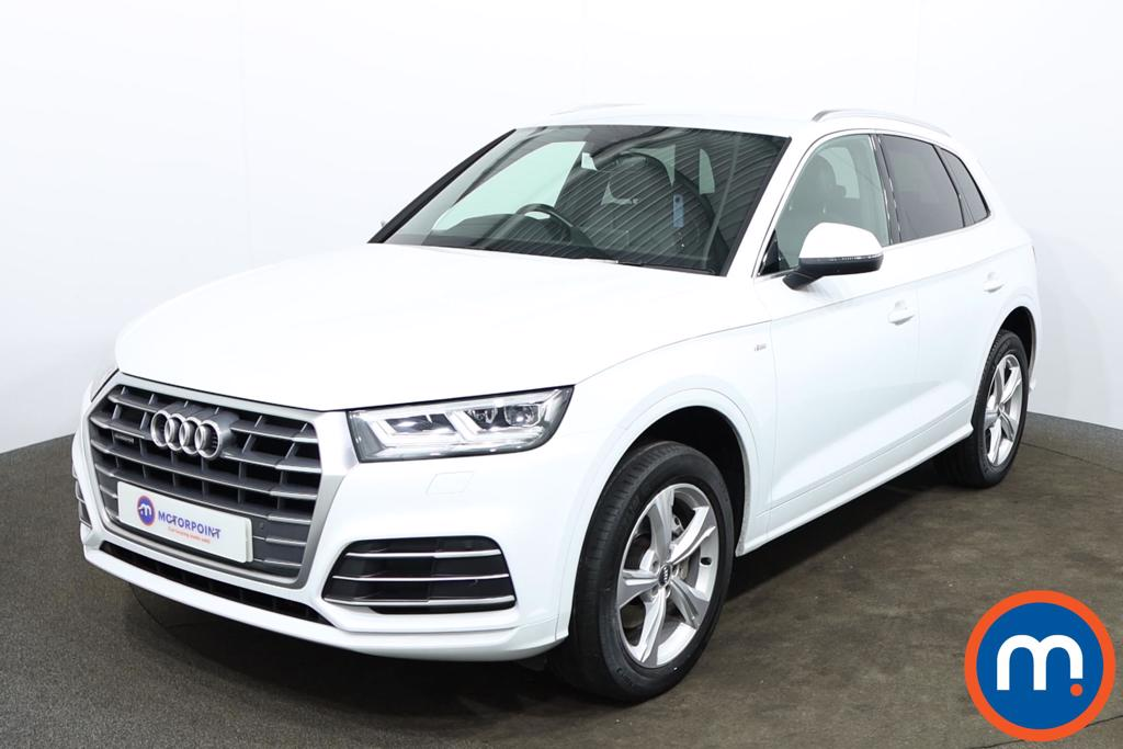 Audi Q5 40 TDI Quattro S Line 5dr S Tronic - Stock Number 1169128 Passenger side front corner