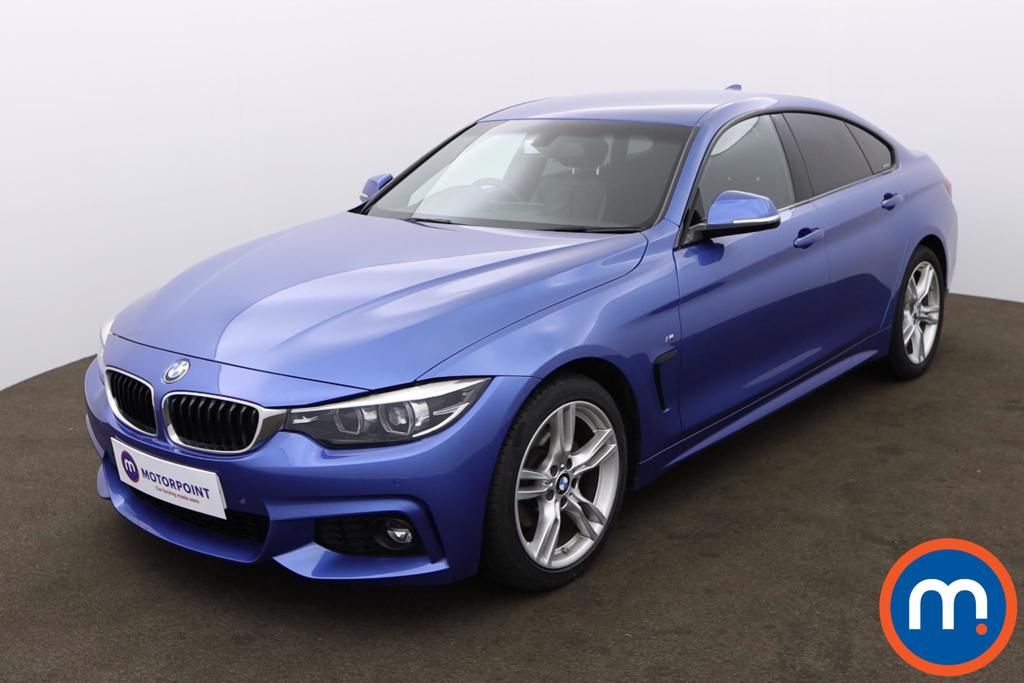 BMW 4 Series 420d [190] M Sport 5dr Auto [Professional Media] - Stock Number 1170468 Passenger side front corner