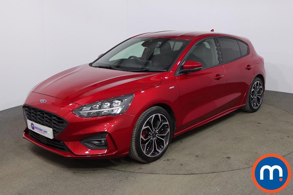 Ford Focus 1.0 EcoBoost Hybrid mHEV 155 ST-Line X Edition 5dr - Stock Number 1172063 Passenger side front corner