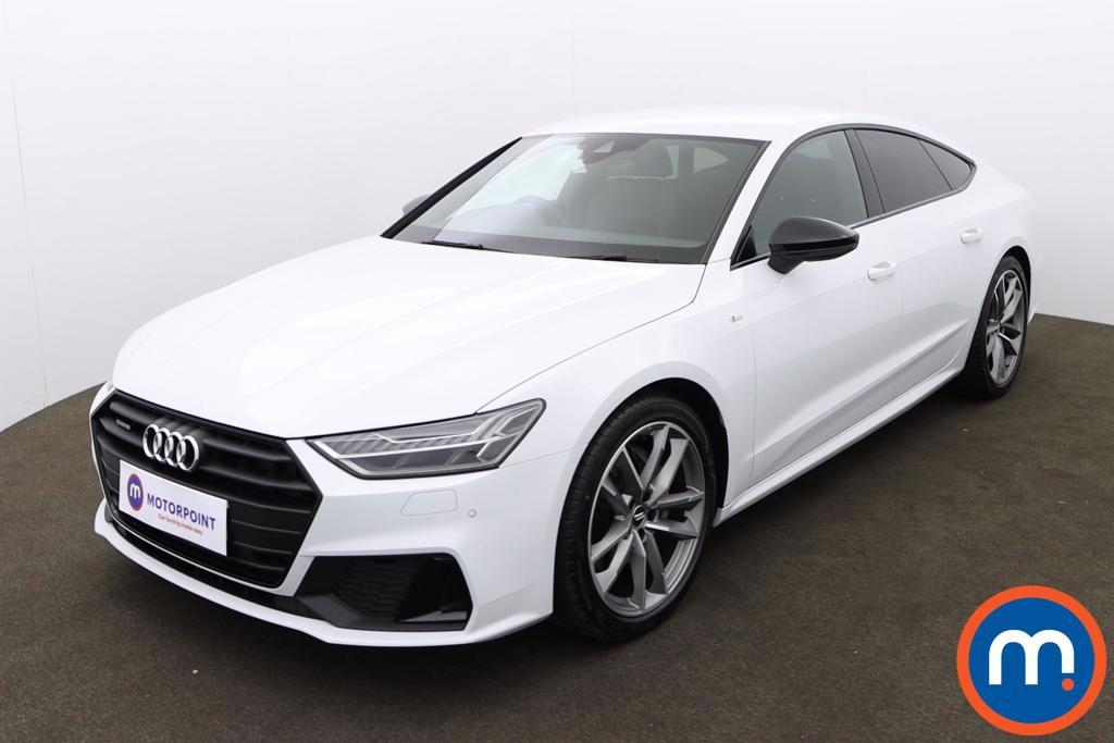 Audi A7 50 TDI Quattro Black Edition 5dr Tip Auto - Stock Number 1171801 Passenger side front corner