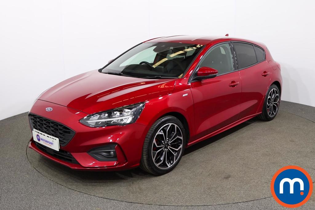 Ford Focus 1.0 EcoBoost Hybrid mHEV 155 ST-Line X Edition 5dr - Stock Number 1172073 Passenger side front corner