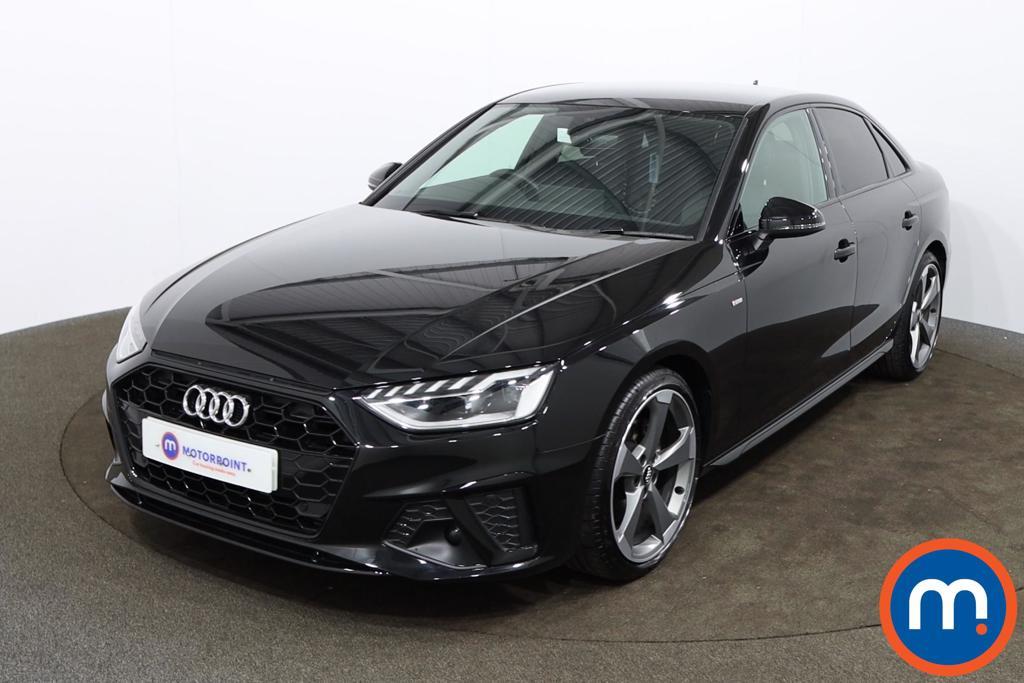 Audi A4 40 TFSI Black Edition 4dr S Tronic - Stock Number 1172323 Passenger side front corner