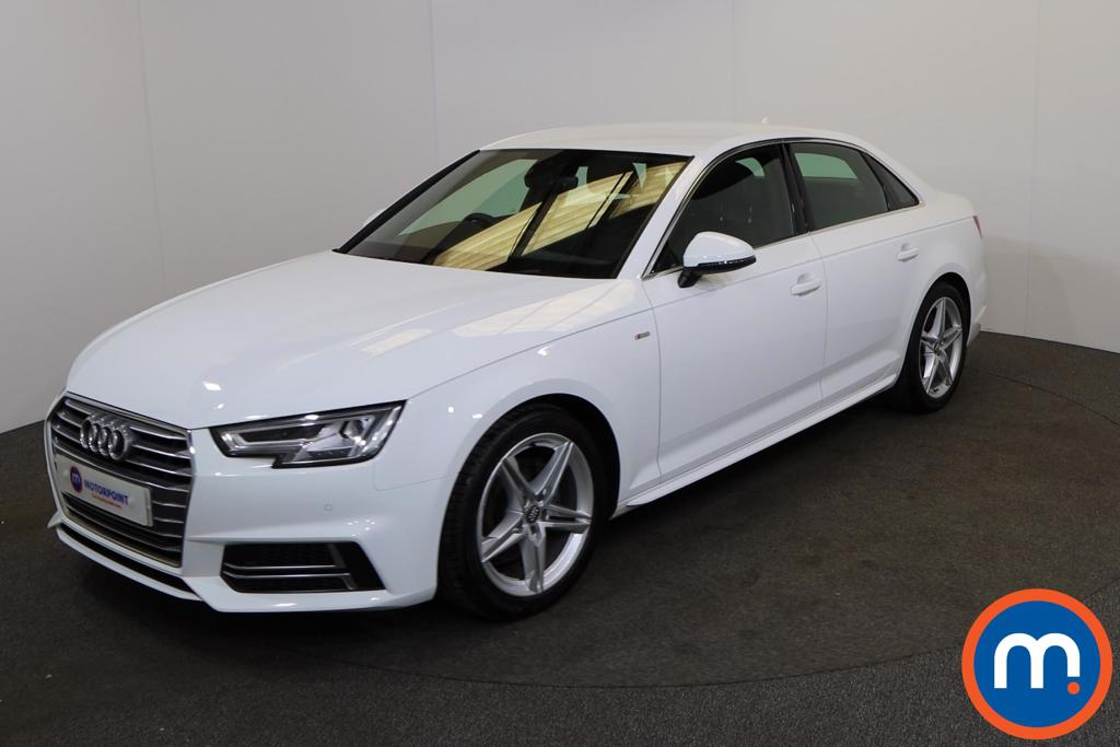 Audi A4 1.4T FSI S Line 4dr S Tronic [Leather-Alc] - Stock Number 1170203 Passenger side front corner