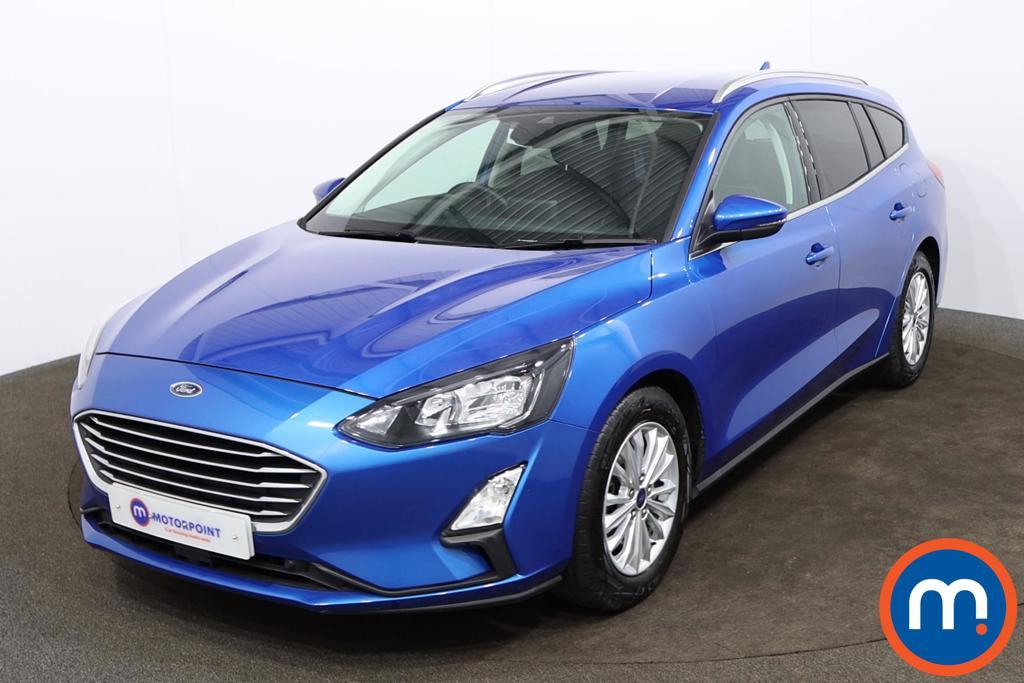 Ford Focus 1.5 EcoBlue 120 Titanium 5dr - Stock Number 1169600 Passenger side front corner
