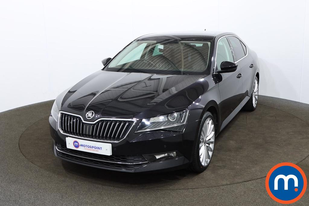 Skoda Superb 2.0 TSI SE L Executive 5dr DSG - Stock Number 1170282 Passenger side front corner