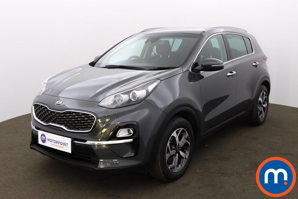 KIA Sportage 1.6T GDi ISG 2 5dr [AWD] - Stock Number 1170451 Passenger side front corner