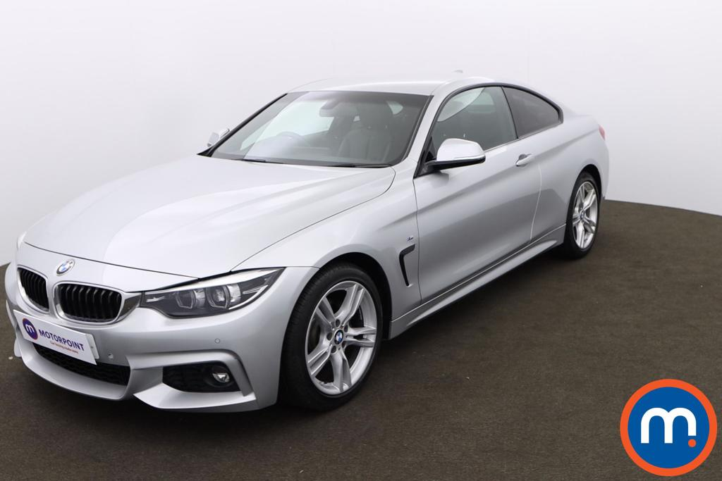 BMW 4 Series 420d [190] M Sport 2dr Auto [Professional Media] - Stock Number 1170516 Passenger side front corner