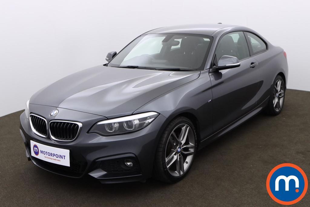 BMW 2 Series 220d M Sport 2dr [Nav] - Stock Number 1171002 Passenger side front corner