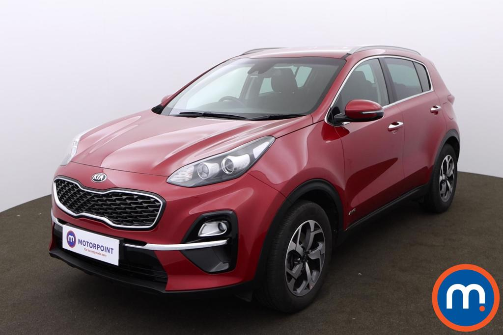 KIA Sportage 1.6T GDi ISG 2 5dr [AWD] - Stock Number 1171678 Passenger side front corner