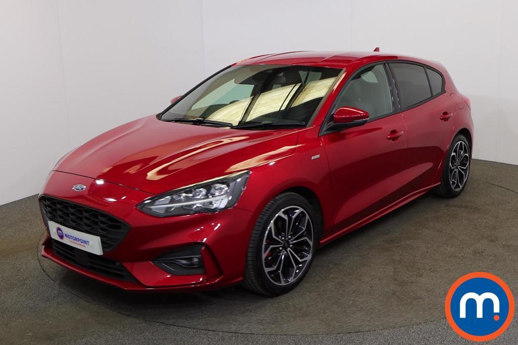 Ford Focus 1.0 EcoBoost Hybrid mHEV 155 ST-Line X Edition 5dr - Stock Number 1173510 Passenger side front corner