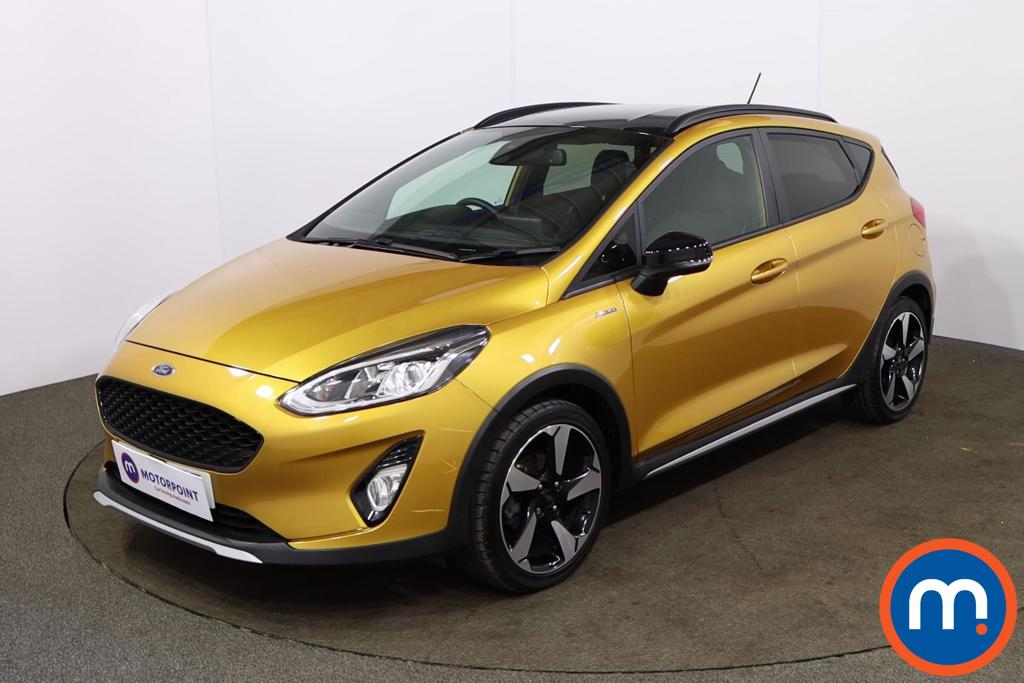 Ford Fiesta 1.0 EcoBoost 125 Active B-PlusO Play 5dr - Stock Number 1171255 Passenger side front corner
