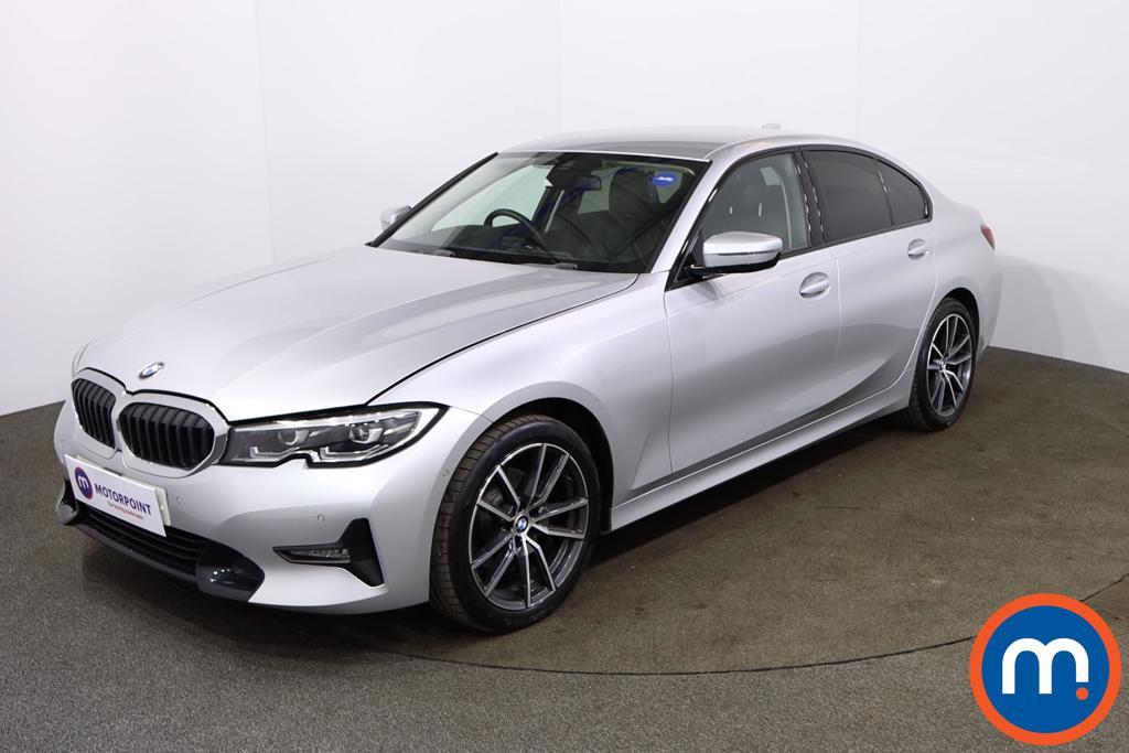 BMW 3 Series 320i Sport 4dr Step Auto - Stock Number 1173316 Passenger side front corner