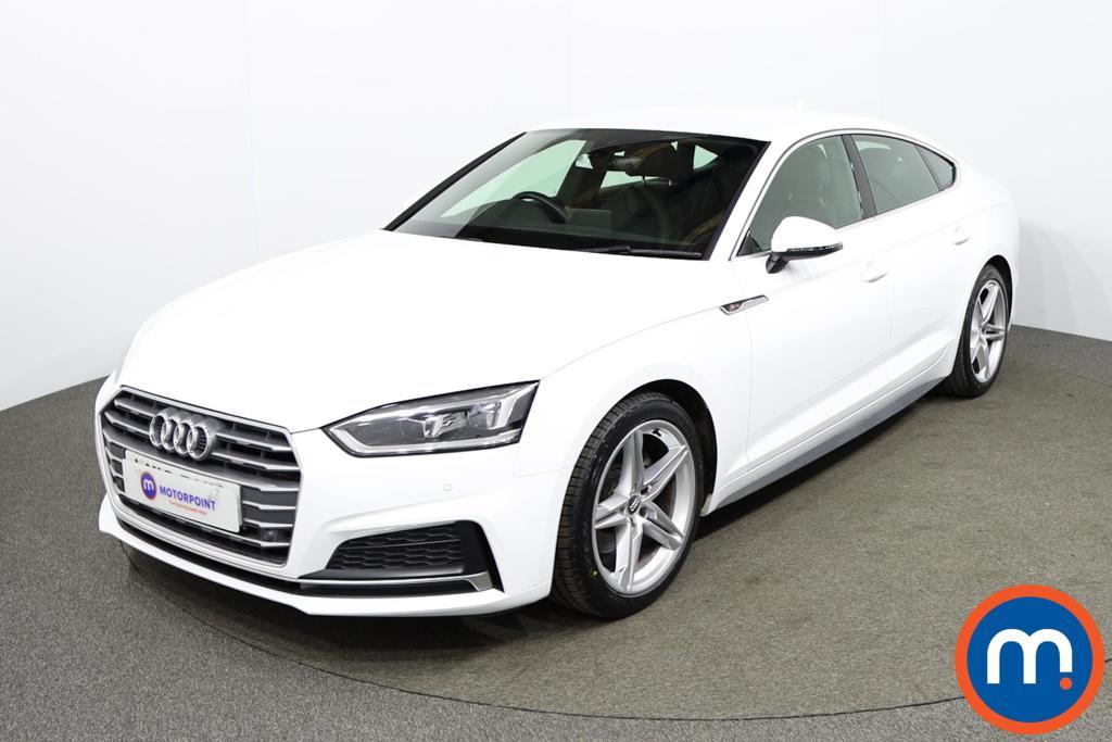 Audi A5 1.4 TFSI S Line 5dr S Tronic - Stock Number 1170579 Passenger side front corner