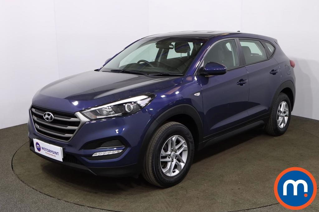 Hyundai Tucson 1.6 GDi Blue Drive S 5dr 2WD - Stock Number 1170113 Passenger side front corner