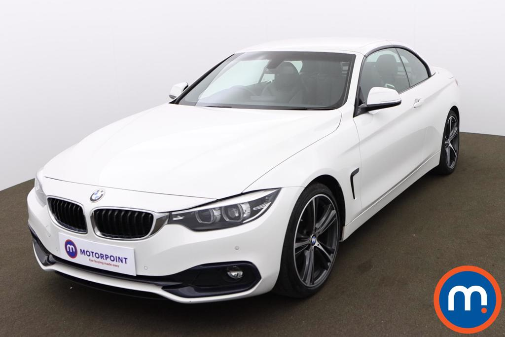 BMW 4 Series 420d [190] Sport 2dr Auto [Business Media] - Stock Number 1173184 Passenger side front corner