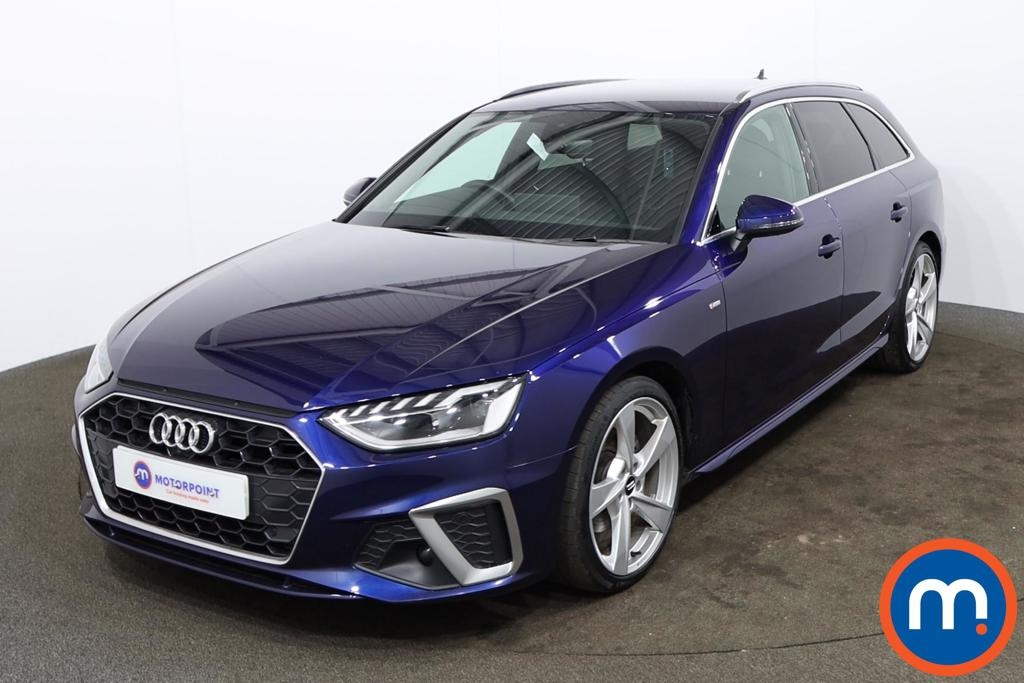 Audi A4 35 TFSI S Line 5dr S Tronic [Comfort-PlusSound] - Stock Number 1174421 Passenger side front corner