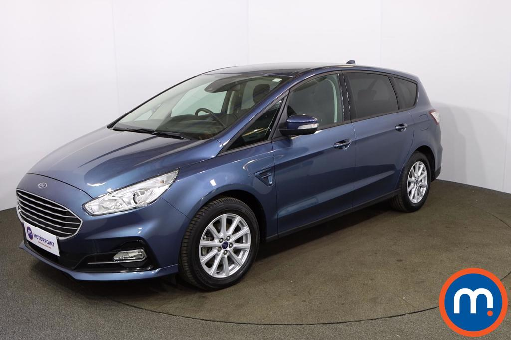 Ford S-Max 2.0 EcoBlue Zetec 5dr Auto - Stock Number 1169204 Passenger side front corner