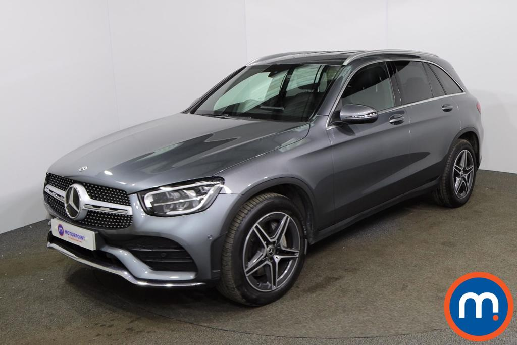 Mercedes-Benz GLC GLC 300 4Matic AMG Line 5dr 9G-Tronic - Stock Number 1170221 Passenger side front corner