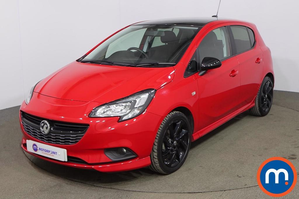 Vauxhall Corsa 1.4 SRi Vx-line Nav Black 5dr - Stock Number 1174799 Passenger side front corner