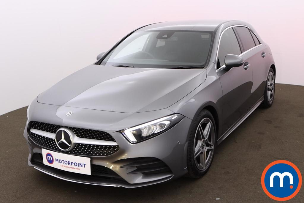 Mercedes-Benz A Class A180 AMG Line Executive 5dr Auto - Stock Number 1170239 Passenger side front corner