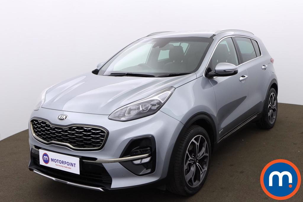 KIA Sportage 1.6T GDi ISG GT-Line 5dr DCT Auto [AWD] - Stock Number 1170268 Passenger side front corner