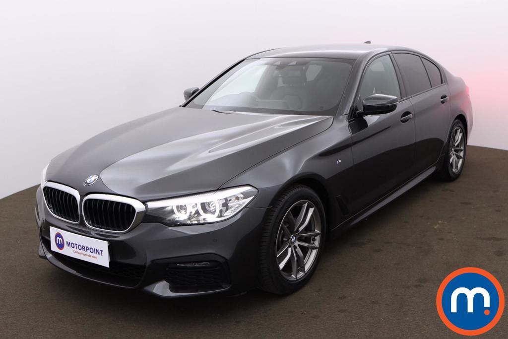BMW 5 Series 520d M Sport 4dr Auto - Stock Number 1172331 Passenger side front corner