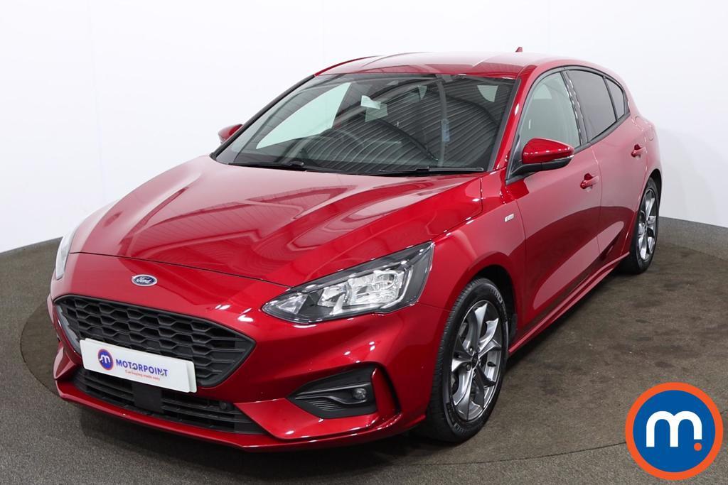 Ford Focus 1.0 EcoBoost Hybrid mHEV 155 ST-Line Edition 5dr - Stock Number 1174853 Passenger side front corner