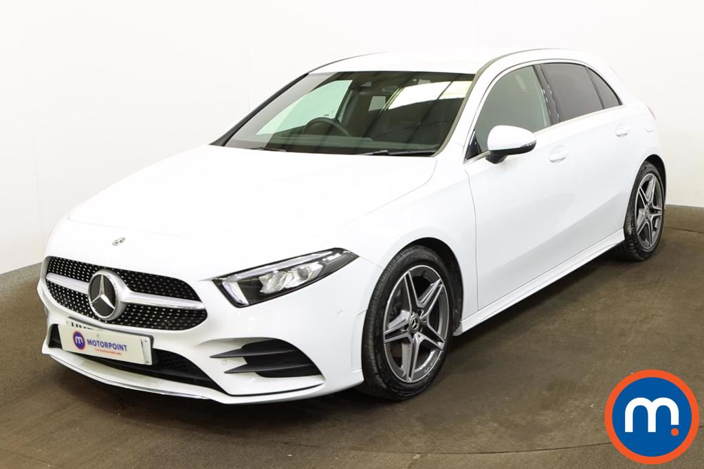 Mercedes-Benz A Class A180 AMG Line Executive 5dr Auto - Stock Number 1170237 Passenger side front corner