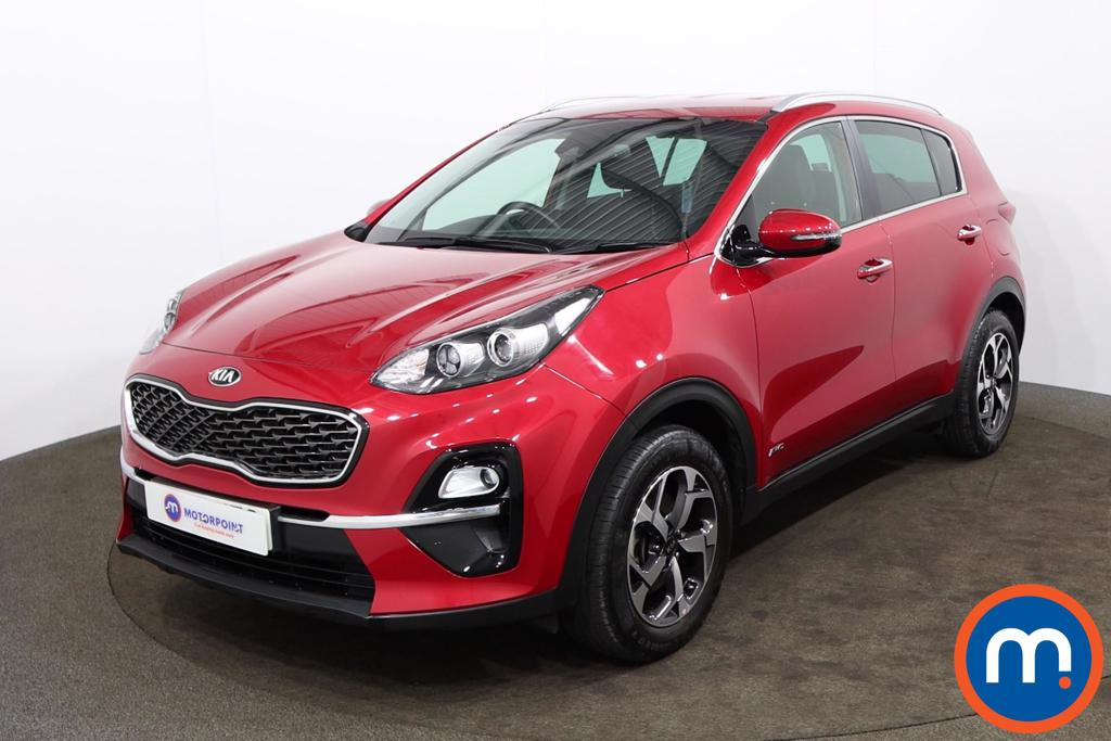 KIA Sportage 1.6T GDi ISG 2 5dr [AWD] - Stock Number 1174582 Passenger side front corner