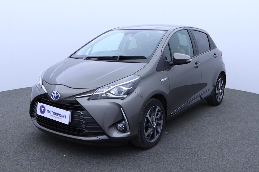 Toyota Yaris 1.5 Hybrid Y20 5dr CVT [Mono-tone] - Stock Number 1174965 Passenger side front corner