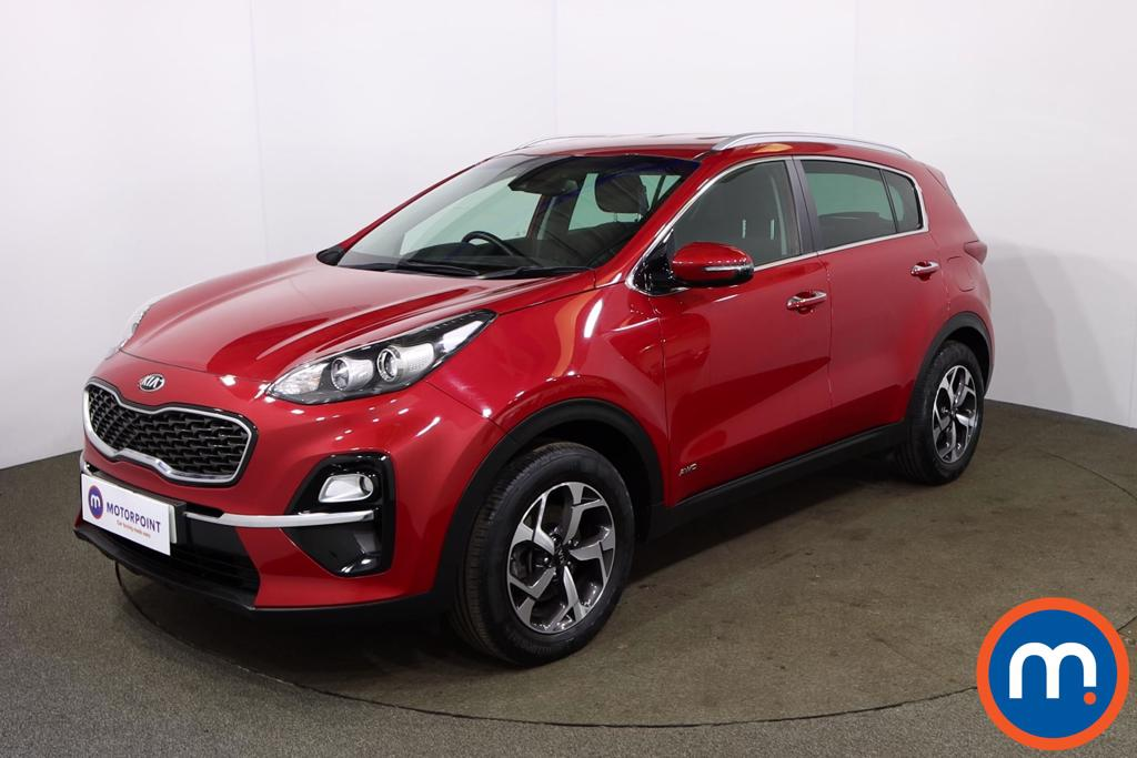 KIA Sportage 1.6T GDi ISG 2 5dr [AWD] - Stock Number 1172554 Passenger side front corner