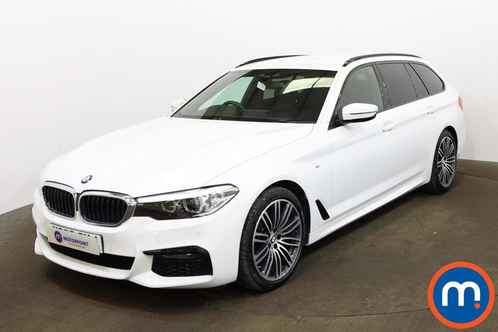 BMW 5 Series 520d xDrive M Sport 5dr Auto - Stock Number 1173036 Passenger side front corner