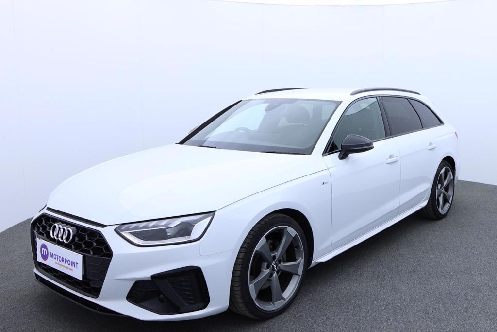 Audi A4 35 TDI Black Edition 5dr S Tronic - Stock Number 1176366 Passenger side front corner