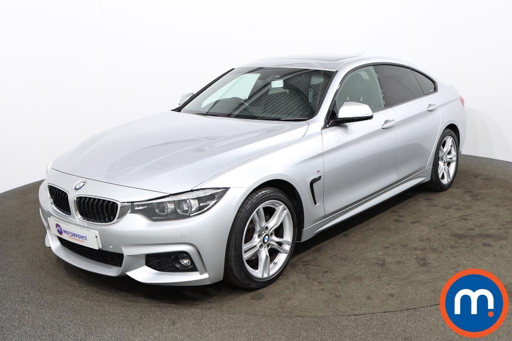 BMW 4 Series 420d [190] M Sport 5dr [Professional Media] - Stock Number 1173797 Passenger side front corner