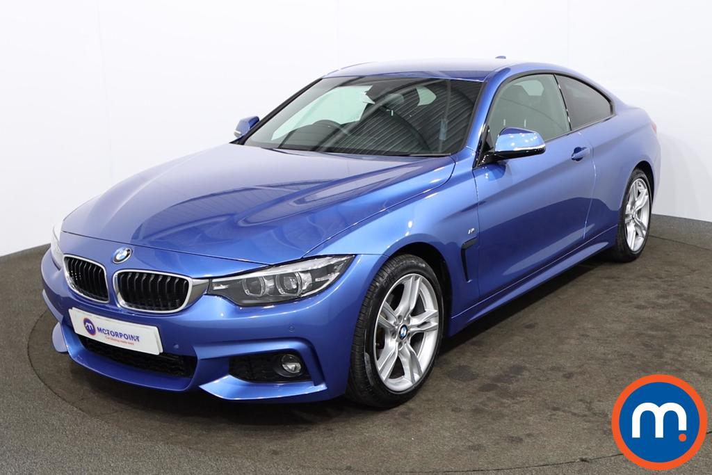 BMW 4 Series 420d [190] M Sport 2dr Auto [Professional Media] - Stock Number 1173819 Passenger side front corner